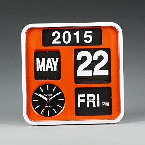 FARTECH Auto Calendar Flip Clock AD-650 ()