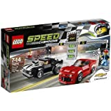 LEGO Speed Champions Chevrolet Camaro Drag Race 445pc(s) - building sets (Any gender, Multicolour)