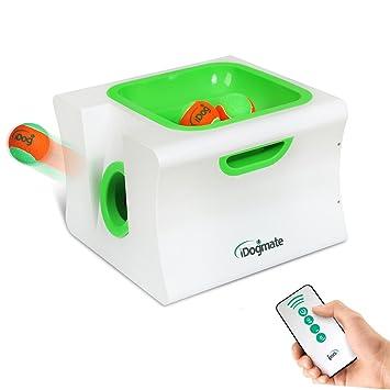 iDogmate Midi - Lanzador de pelotas de perro, interactivo y ...