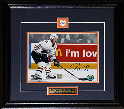 - Ryan Smyth Edmonton Oilers Signed 8x10 NHL Hockey Memorabilia Collector Frame
