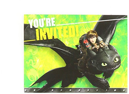 Halloween Party Invites Online (How to Train Your Dragon 2 Invite/Thank You Cards Combo, Party)