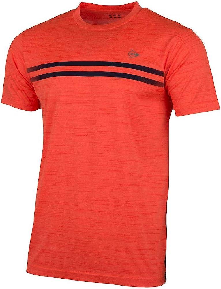 K-Swiss D AC Performance MNS Crew tee-Neon Orange Mel/Navy Camiseta Hombre