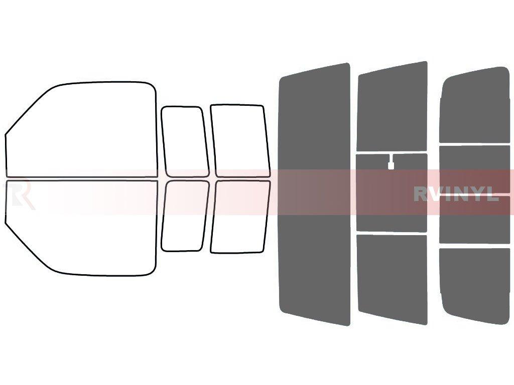 Rtint Window Tint Kit for Ford Ranger 1993-2011 - Complete Kit - 20% Rvinyl