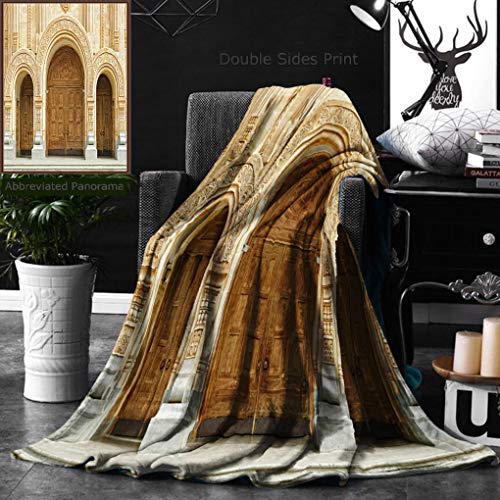 6c36438b8b1 Ralahome Unique Custom Double Sides Print Flannel Blankets Orthodox  Cathedral St Trinity Or Sameba in Tbilisi