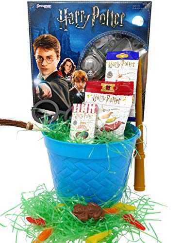 Harry Potter Easter Basket - Bertie Botts Beans Triwizard Board Game]()