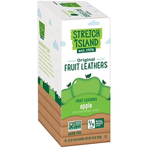 Fruit Leather - Stretch Island All-Natural Autumn Apple Fruit Strips, 0.5 Ounce (Pack of 30)