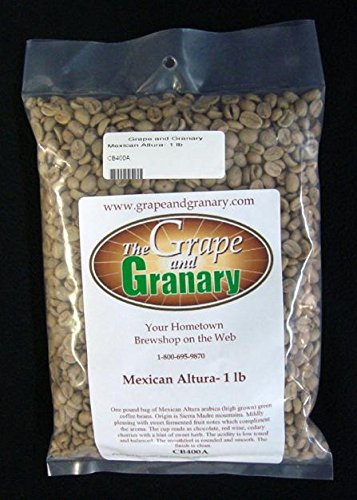 Mexican Altura Green Coffee Beans 1lb