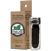 Fio Dental Ecológico de Carvão Ativado 30M - Natural, Suavetex