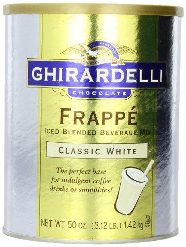 Frappe Mix (Ghirardelli Beverage Mix, Classic White 50 oz.)