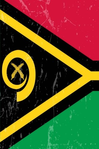 Vanuatu Flag Journal: Vanuatu Travel Diary, Holiday Souvenir Book, lined Journal to write in