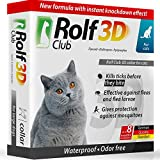 Rolf Club 3D FLEA Collar for Cats - Flea and Tick Prevention for Cats - Cats Flea and Tick Control for 8 Months - Safe Tick Repellent - Waterproof Tick Treatment