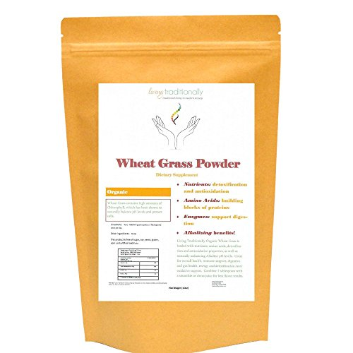 - Organic Wheat Grass Powder (16 oz.) Loaded with Vitamins and Minerals Rejuvenate Aging Cells and Balance pH Levels. Immunity Booster with Overall Health and Energy Benefits!