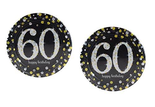 Hill Cake - Sparkling Celebration 60 Paper Dessert Plates 16 ct.