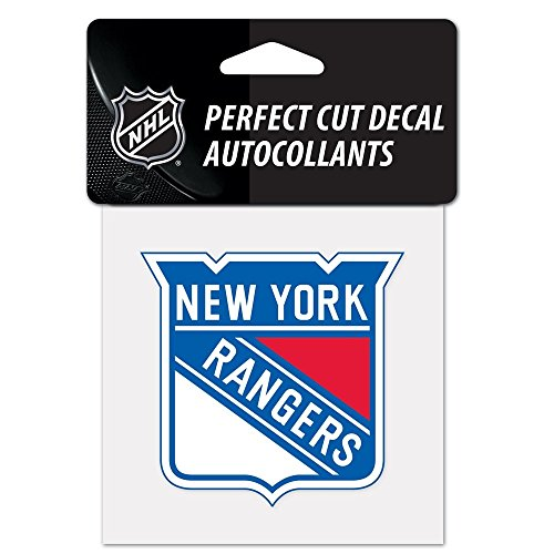 WinCraft NHL New York Rangers Perfect Cut Color Decal, 4
