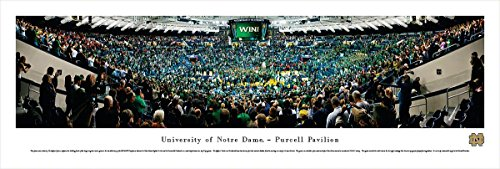 - Notre Dame Basketball - Blakeway Panoramas Unframed College Sports Posters