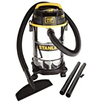 Stanley 5 Gallon Stainless Wet/Dry Vac 4.5 Peak HP