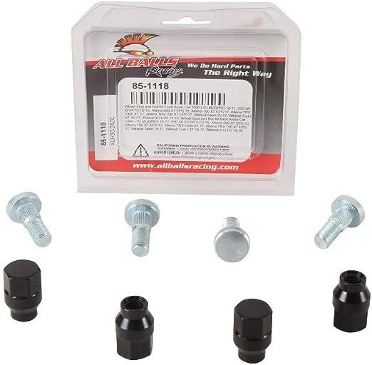 All Balls ATV Wheel Stud and Lug Nut Kit 85-1118 Replacement Wheel Hardware