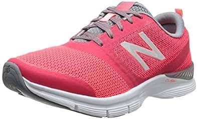 New Balance Women's 711 Mesh Cross-Training Shoe, Pink/Grey, 7 B US