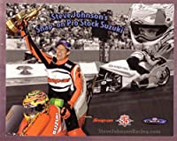 STEVE JOHNSON NHRA HERO CARD PRO STOCK MOTORCYCLE VF