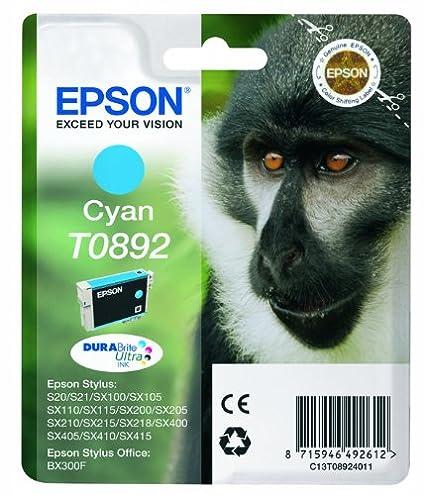 Epson Cartucho De Tinta T0892 Cyan 3,5 Ml válido para los modelos ...