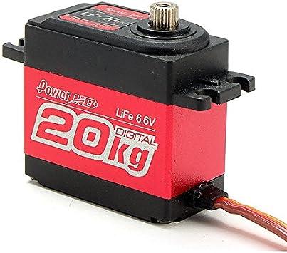 NEW POWER HD LF-20MG .16 Copper /& Alum Gear Digital Servo FREE US SHIP