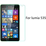 M.G.R Microsoft Lumia 535 Tempered Glass, 3D Touch Compatible, 9H Hardness, Bubble Free, Anti-Scratch, Fingerprint, Oil Stain Coating