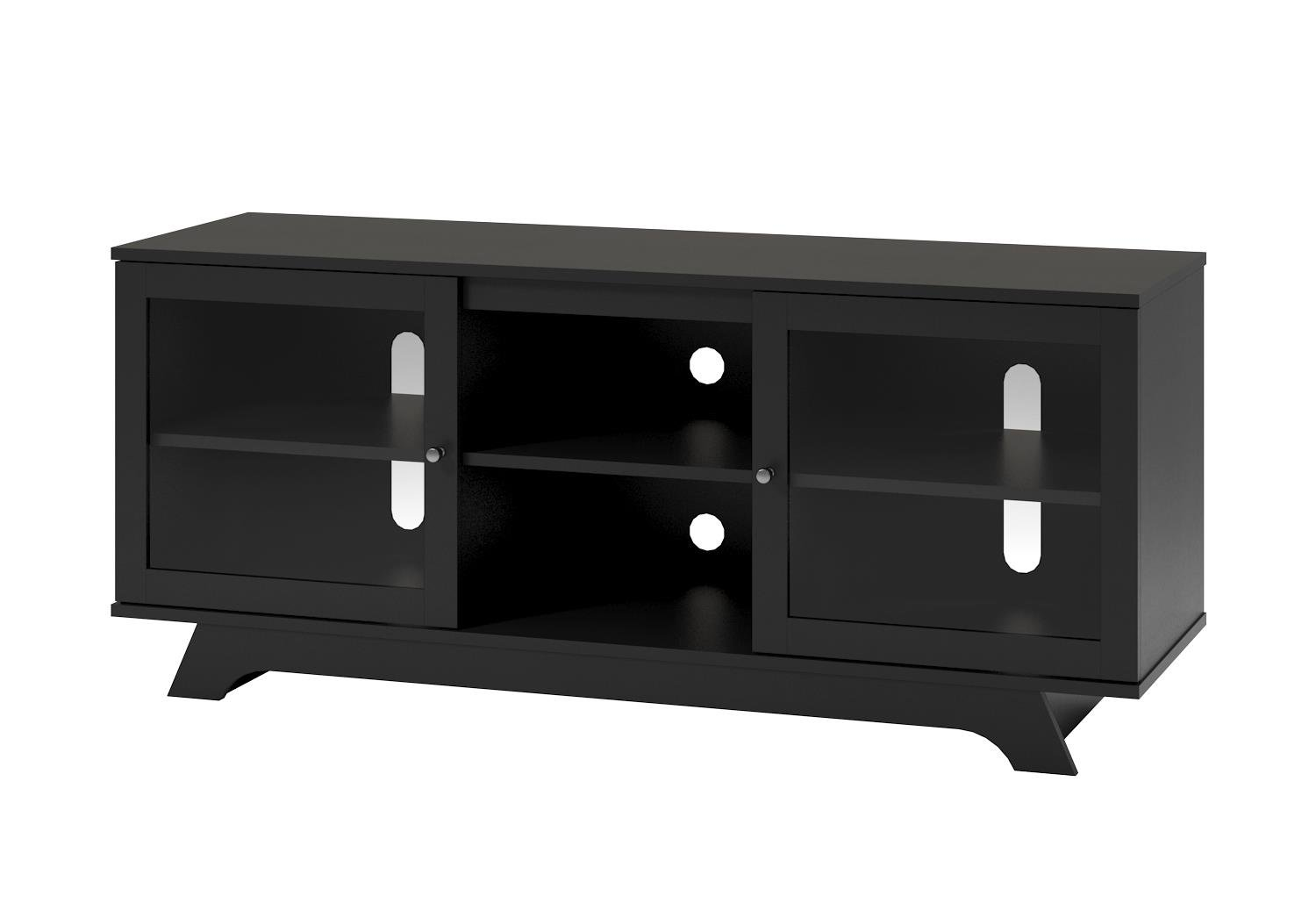 Ameriwood Home Englewood TV Stand for TVs up to 55'', Black by Ameriwood Home