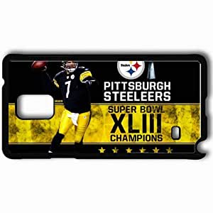 Personalized Samsung Note 4 Cell phone Case/Cover Skin 1346 pittsburgh steelers Black