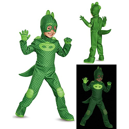 Gekko Deluxe Toddler PJ Masks Costume,