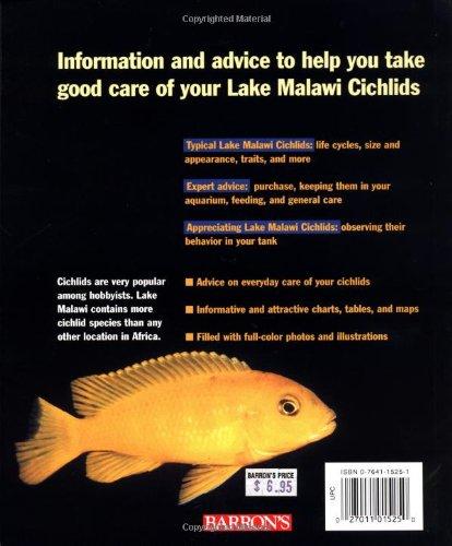 Lake Malawi Cichlids (Complete Pet Owner's Manuals) 2