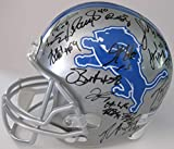 2018 Detroit Lions team signed autographed full size football helmet, COA with the proof photos will be included