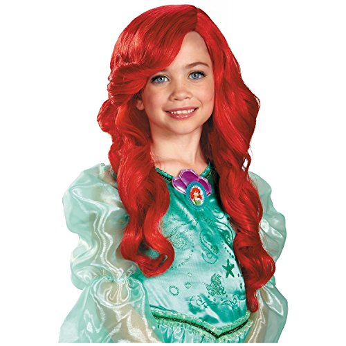Mermaid Costumes For Little Girls (Disney Princess The Little Mermaid Ariel Child Wig)