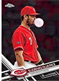 2017 Topps Chrome #183 Eugenio Suarez Cincinnati Reds Baseball Card