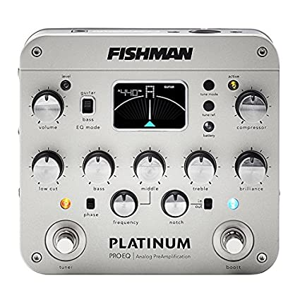 Fishman Platinum Stage EQ/DI Analog Preamp Fishman Transducers Inc. PRO-PLT-301