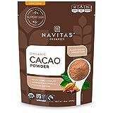 Navitas Organics Cacao Powder, 8oz. Bag - Organic, Non-GMO, Fair Trade, Gluten-Free