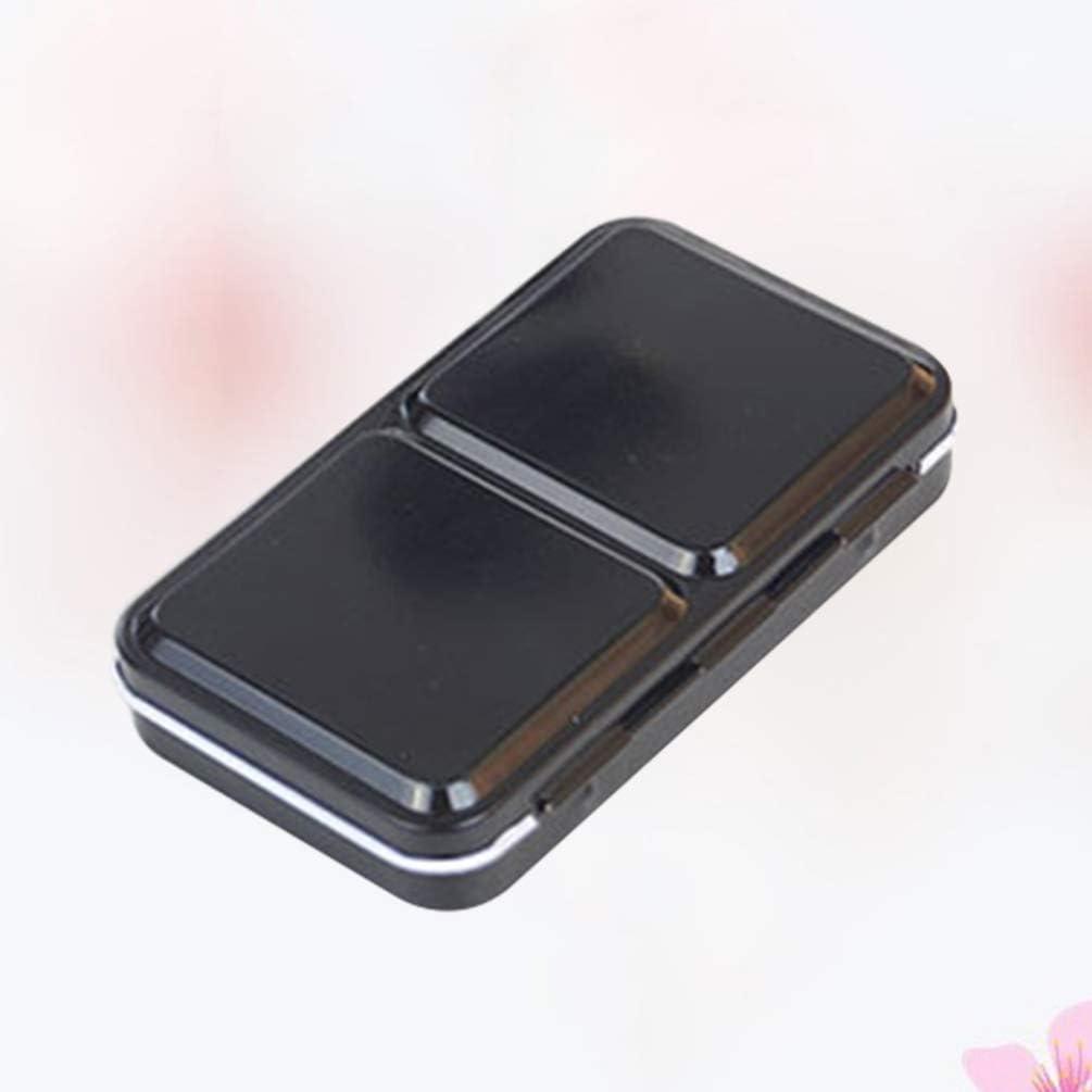 SUPVOX caja de acuarela caja de metal vacía almacenamiento portátil pintura fundida (caja de hierro para 12 colores): Amazon.es: Hogar