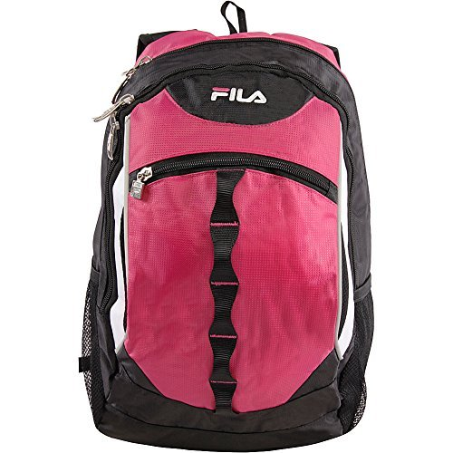 Fila Dome Laptop Backpack, FUCHSIA, One Size