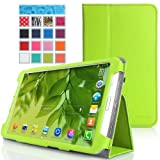 MoKo Samsung Galaxy Tab 3 8.0 Case - Slim Folding Cover Case for Samsung Galaxy Tab 3 8.0 Inch SM-T3100 / SM-T3110 Android Tablet, GREEN (WILL NOT Fit Samsung Galaxy Tab 4 8.0)