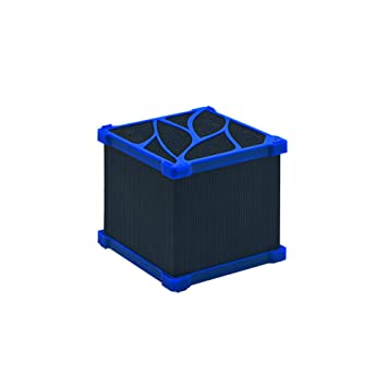 LIFUREN Filtro de pecera Purificador de Agua Tesoro magnético de carbón Activado. Cubo de purificacion de Agua Adsorber los residuos (Tamaño : 550L/H): ...