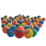 8.5 in. Rainbow Playground Balls (48-Pack)