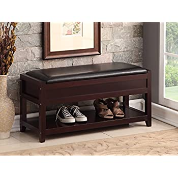 Amazon Com Finnhomy Entryway Shoe Rack With Cushioned