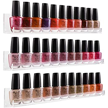 Amazon.com: 96 Bottle Nail Polish Wall Rack Display: Beauty