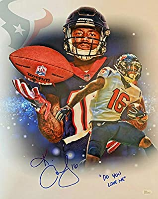 finest selection 9ab22 87ecb Keke Coutee Signed 16x20 COA Autographed NFL Houston Texans ...