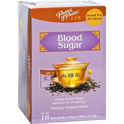 PRINCE OF PEACE Blood Sugar Herbal Tea 18 Bag, 0.02 Pound ()