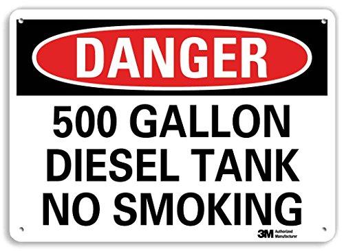 500 Gallon Tank (SmartSign by Lyle U3-1079-RA_10X7