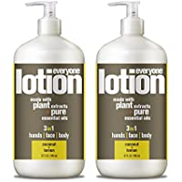 2-Pack Everyone Coconut and Lemon 32 Ounce Lotion