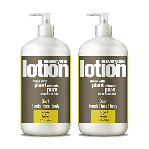 (Everyone Lotion, Coconut and Lemon, 32 Ounce, 2 Count)
