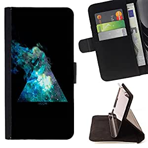 Jordan Colourful Shop - FOR Apple Iphone 6 - in the night sky - Leather Case Absorci¨®n cubierta de la caja de alto impacto