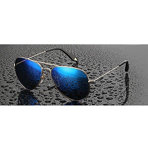 mujeres Color Driving Beach doradas Goggles ligero Retro moradas sol UV400 D Gafas las de Selfie polarizadas YXX de aYWzAqw