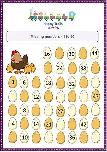 Happy Trails Maths Worksheets For Jr Kg All In One Set Of 2 Workbooks For Junior Kg Kindergarten Lower Kg Kg 1 Loose Leaf Worksheets Workbook Amazon In Happy Trails Books